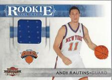 2010-11 Panini Threads Rookie Collection Materials #31 Andy Rautins Jersey /399