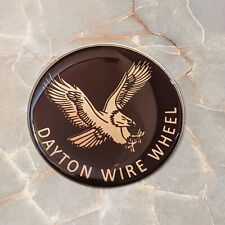 Brown Eagle Dayton Wire Wheel Chips Emblems Decals Set Of 4 Size 275in