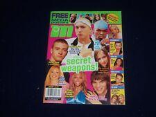 2003 SEPTEMBER M-TEEN MAGAZINE - JUSTIN TIMBERLAKE, EMINEM COVER - SP 3911