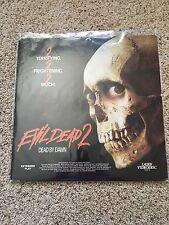 Evil Dead 2 - Dead By Dawn Laserdisc - Bruce Campbell