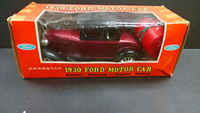"CRAGSTAN VINTAGE, BATTERY OPERATED 1930 FORD ""A"" COUPE HARD-TOP W/BOX & WORKING"