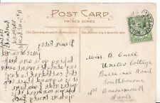 Family History Postcard - Cuell - Bournemouth - Hampshire - Ref 1768A