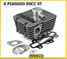 CILINDRO KIT X PIAGGIO 50CC 4T ZIP / FLY / LIBERTY / VESPA ET4 MOTORE A 2 VALVOL