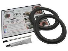 "MCS JC Penny 683-8224 8"" Woofer Surround Speaker Foam Edge Repair Kit (Pair)"