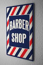 Tin Sign barbershop Metal Plate