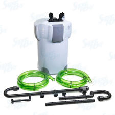 525 GPH Aquarium 5-Stage External Canister Filter 9-watt UV Sterilizer