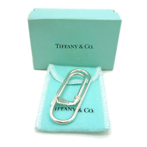 Authentic Tiffany & Co. Golf Club Money Clip Sterling Silver #W408076