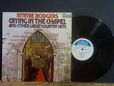 JIMMIE RODGERS  Crying In The Chapel    LP  u.k. pressing  Lovely copy  !