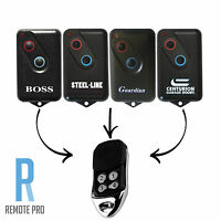 Boss Guardian SteelLine 2211L Garage Door Remote BHT4/BOL4/BOL6/BRD1 Replacement