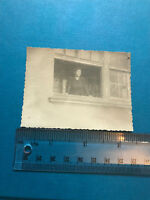 Photograph. Vintage. Woman Looking Out Of Window 1920's