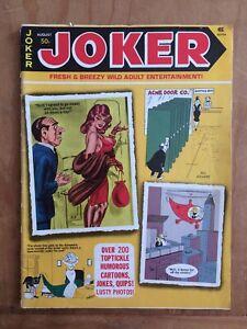 JOKER Fresh & Breezy Wild Adult Entertainment 8/75 HUMORAMA Vintage Humor Gags