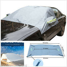Car Windshield Side Rearview Mirror Cover Protect Sunshade Ice Frost Protector