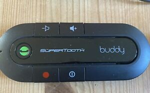 SuperTooth Buddy Handsfree Bluetooth Visor Speakerphone Car Kit for Smartphone D