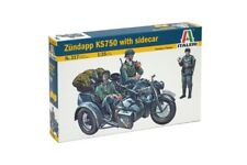 ITALERI 0317 1/35 Zundapp KS750 With Sidecar