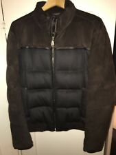 Brioni Brown Cashmere Down Filled Bomber