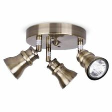 Brass Electric/Corded Ceiling Spot Lights