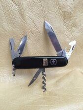 black VICTORINOX SWISS ARMY KNIFE 8 BLADE + PICK Promo Giveaway? 7EL JB3