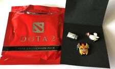 DOTA 2 Dota2 Rare Emoticharm Pins Pack With Steam Code