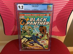 Jungle Action #6 CGC 9.2 Black Panther Erik Killmonger