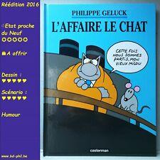 Le Chat, 11, L'affaire le Chat, Geluck, Casterman, R, 2016, EN, C
