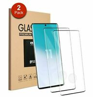 2-Pack For Samsung Galaxy S20 Plus S20 Ultra S20 Tempered Glass Screen Protector