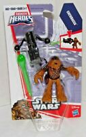 Star Wars Galactic Heroes Chewbacca Figure Playskool Disney Wookie *READ