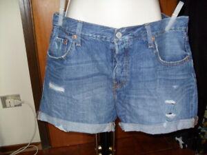 LEVI'S Shorts jeans Taglia 30