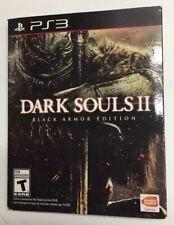 Dark Souls II Black Armor Edition Steel Case PS3 - Case & Soundtrack ONLY