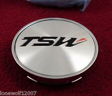 TSW Wheels Chrome Custom Wheel Center Cap  # C-F80 / PCD31-C - NEW ONE CAP
