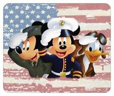 MICKEY MOUSE MOUSE PAD # 2. FLAG LOGO. DONALD DUCK, MINNIE MOUSE...FREE SHIPPING