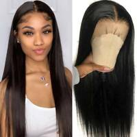Pre Plucked Straight Silk Top Full Lace Wigs Brazilian Virgin Human Hair Wig Sss