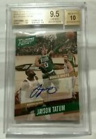 2017 Prestige Jayson Tatum signatures Auto autograph rookie bgs 9.5 gem celtics