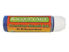 Racquet Art Premium Stencil Ink - Water Based - Blue