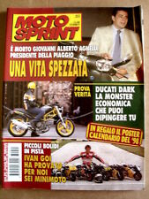 MOTOSPRINT n°51 1997  Morte Giovanni Agnelli Jr - Poster Calendario 98   [P59]