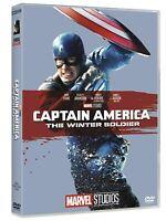 Captain America - The Winter Soldier - Marvel 10° Anniversario- Dvd - Nuovo