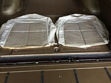 """1963 LINCOLN CONTINENTAL BEIGE """"SILVER CLOUD"""" FRONT SEAT UPPER SET - NOS"""
