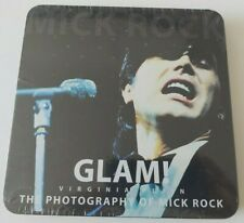 "GLAM! THE PHOTOGRAPHS OF MICK ROCK BOOK + VIRGINIA PLAIN 7"" WHITE VINYL"