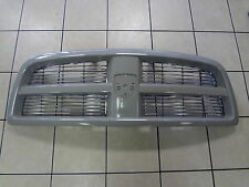 10-12 Dodge Ram 1500 New Body Color Grille Primer Paint To Match Mopar Oem