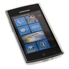 Tasche Silicon milchig transp. f. Samsung Omnia W i8350