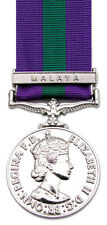 Full Size General Service Medal 1918-62 GSM Malaya Clasp