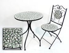 Eisen Gartenmöbel Set Lisboa Nostalgie Stuhl Tisch Garten Terrasse Klappstuhl