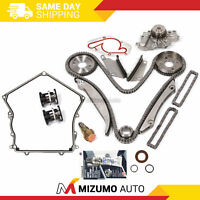 Timing Chain Kit Water Pump Timing Cover Gasket Fit 98-99 Chrysler Dodge 2.7
