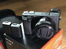 Sony Alpha a6300 Mirrorless Digital Camera with 16-50mm Lens Black SALE
