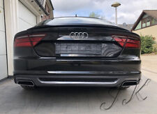 Fits AUDI A7 (2014-2017)  - Rear Diffuser Spoiler Add On (SLine Look)