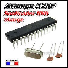 1552BU# ATmega 328p bootloader arduino UNO  + quartz 16MHz + condensateur 22pf
