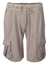 Men's James Perse Standard Cargo Shorts Khaki Beige Tan Supima Designer Vtg 3