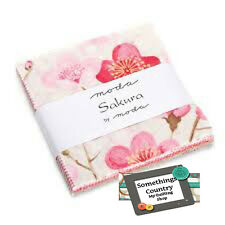 Moda Charm Pack SAKARA Patchwork Quilt 5inch Squares Japanese Fabric New MAteria
