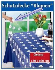 Tischdecke Transparent durchsichtig Schutzdecke Balkondecke 130 x 160 cm