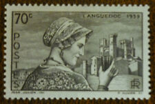 France 1939 70c Languedoc vf mint never hinged SG 657