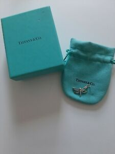 Tiffany & Co 925 Sterling Silver Dragonfly Charm